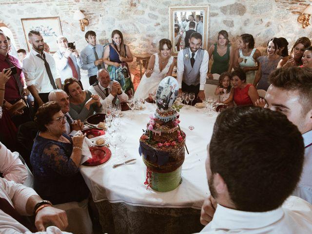 La boda de Leornado y Lidia en Mangiron, Madrid 48
