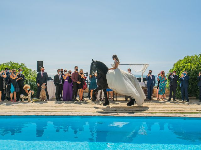 La boda de Israel y Maria en Altafulla, Tarragona 12