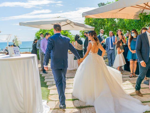La boda de Israel y Maria en Altafulla, Tarragona 35