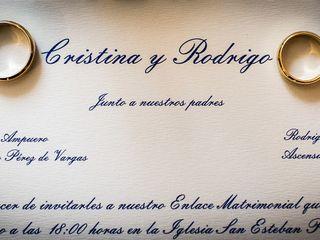 La boda de Cristina y Rodrigo 2