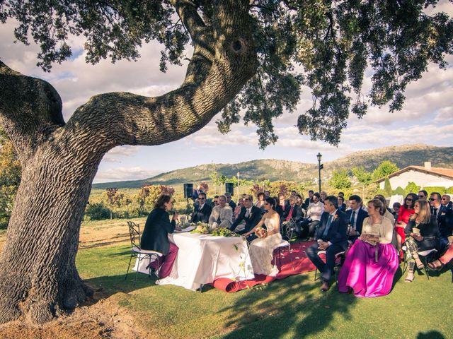 La boda de Nacho y Lucia en Collado Villalba, Madrid 27
