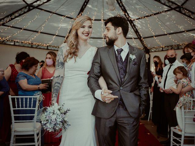 La boda de Alberto y Claudia en Madrid, Madrid 83