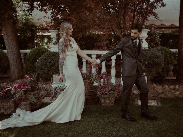 La boda de Alberto y Claudia en Madrid, Madrid 99