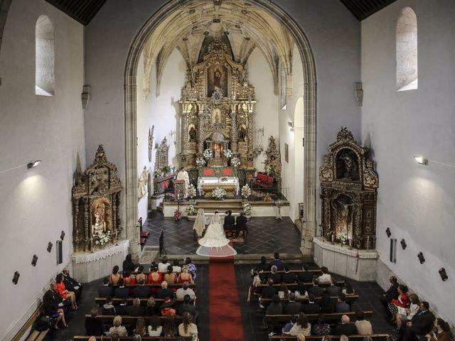 La boda de Gabriel y Alicia en Mirabel, Cáceres 1