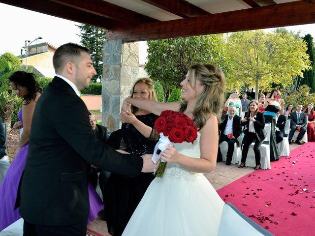 La boda de Alex y Denise en Can Font, Girona 80