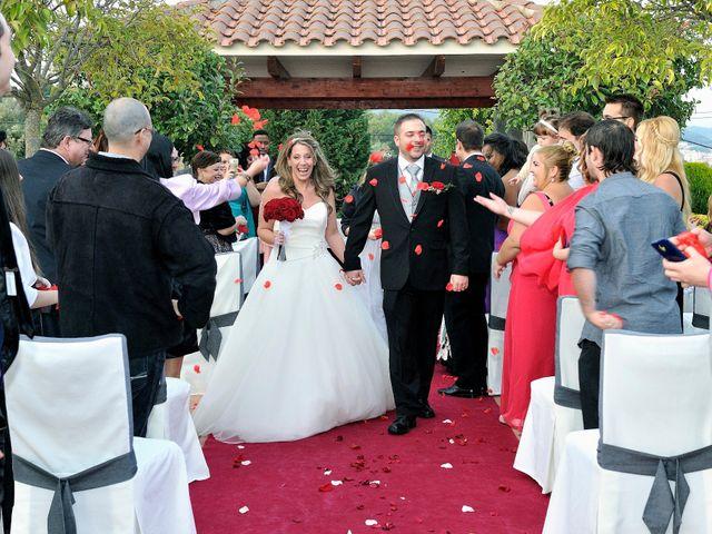 La boda de Alex y Denise en Can Font, Girona 111