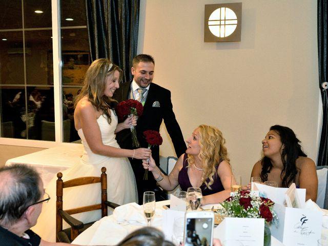 La boda de Alex y Denise en Can Font, Girona 163