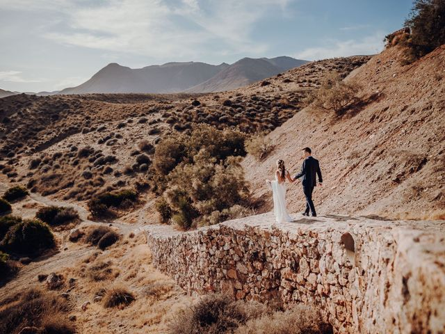 La boda de Patryk y Alba en Almería, Almería 45