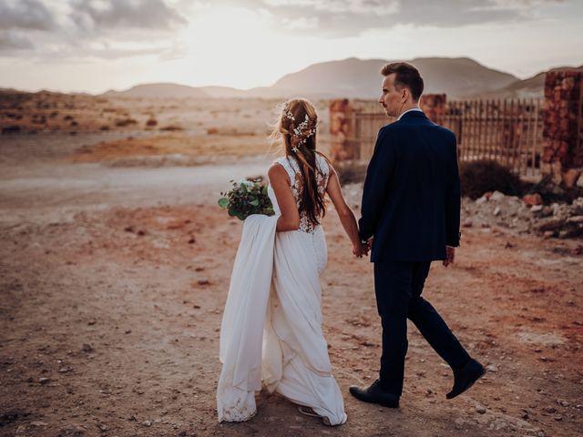 La boda de Patryk y Alba en Almería, Almería 55