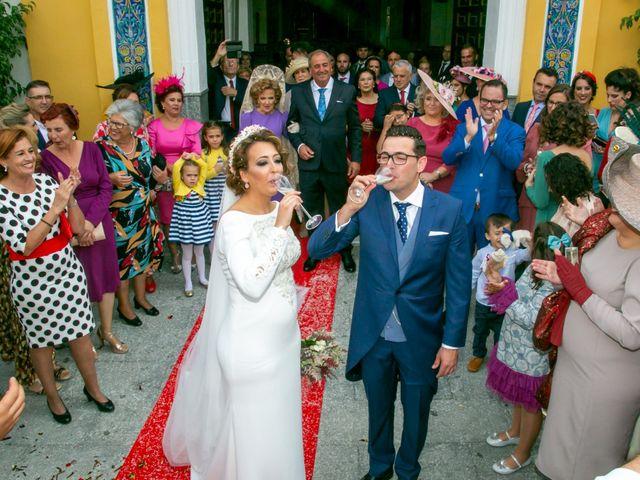 La boda de Antonio y Isabel María en Aznalcazar, Sevilla 10