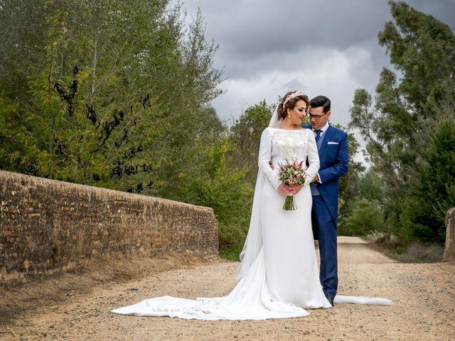 La boda de Antonio y Isabel María en Aznalcazar, Sevilla 12