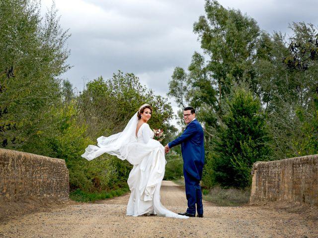 La boda de Antonio y Isabel María en Aznalcazar, Sevilla 13