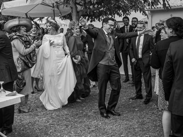 La boda de Antonio y Isabel María en Aznalcazar, Sevilla 15