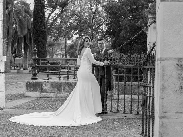 La boda de Antonio y Isabel María en Aznalcazar, Sevilla 21