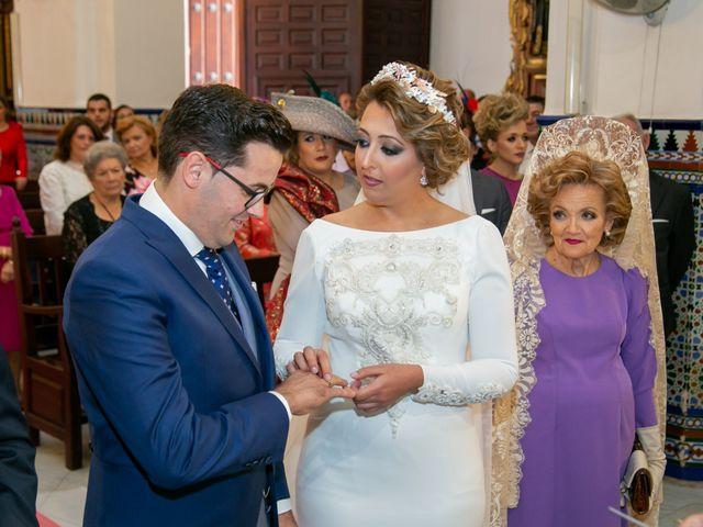 La boda de Antonio y Isabel María en Aznalcazar, Sevilla 8
