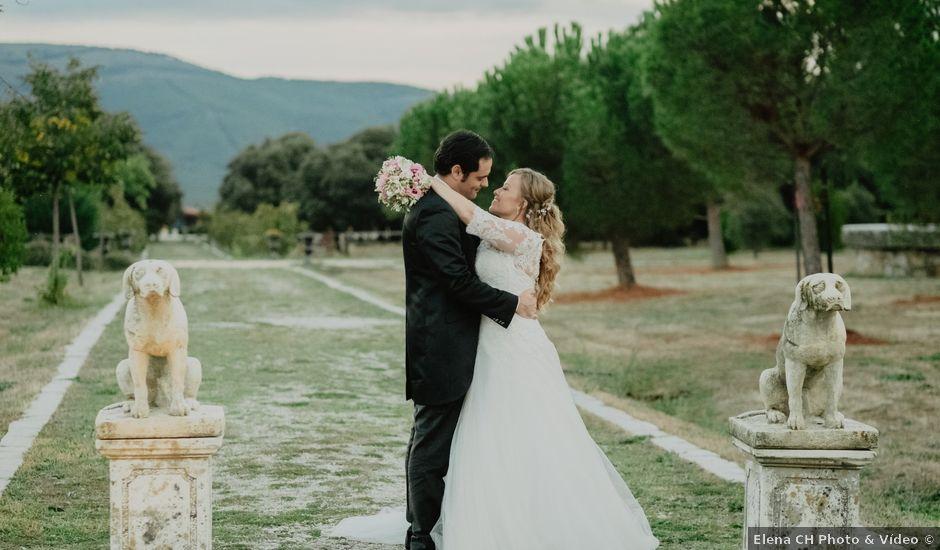 La boda de Germán y Irene en Madrid, Madrid