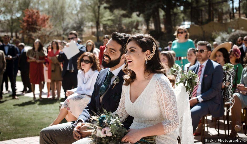 La boda de Sergio y Sara en Tarancon, Cuenca