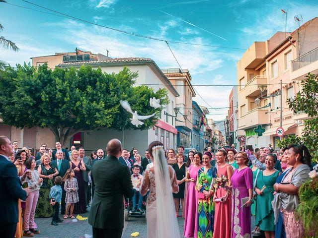 La boda de Regino y Inma en Fortuna, Murcia 2