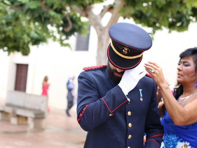 La boda de Juan  y Rocio  en Castelló/castellón De La Plana, Castellón 40