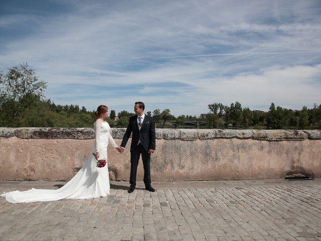 La boda de Jose Antonio y Rocío en Herrera, Burgos 1