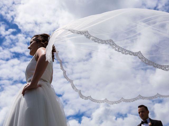 La boda de Rubén y Jessica en O Rosal (Couso), Pontevedra 1