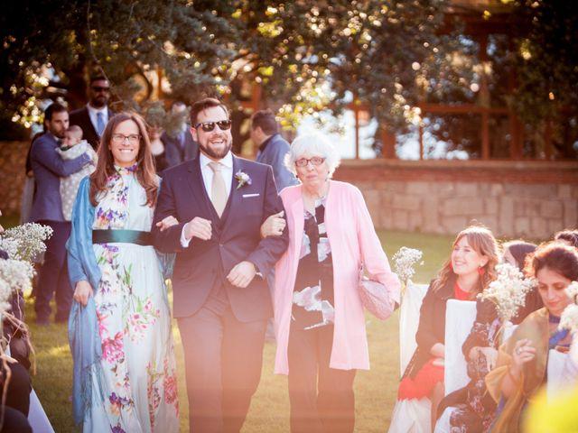 La boda de Carlos y María en San Agustin De Guadalix, Madrid 17