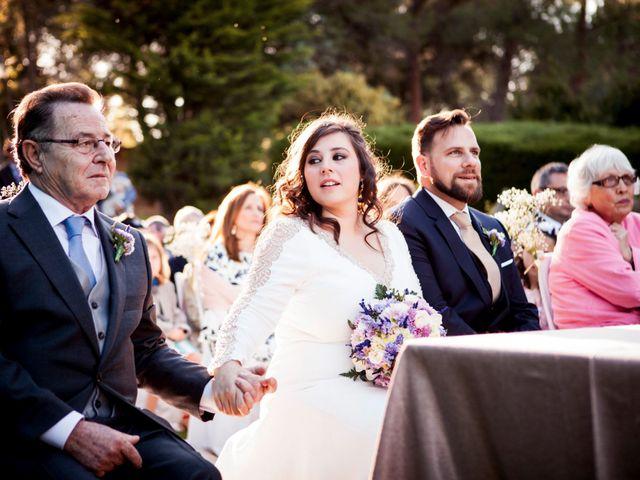 La boda de Carlos y María en San Agustin De Guadalix, Madrid 26