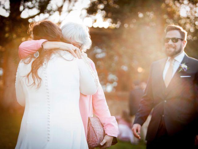 La boda de Carlos y María en San Agustin De Guadalix, Madrid 34