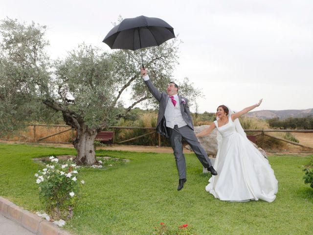 La boda de Paco y Carmen en Almaden De La Plata, Sevilla 21