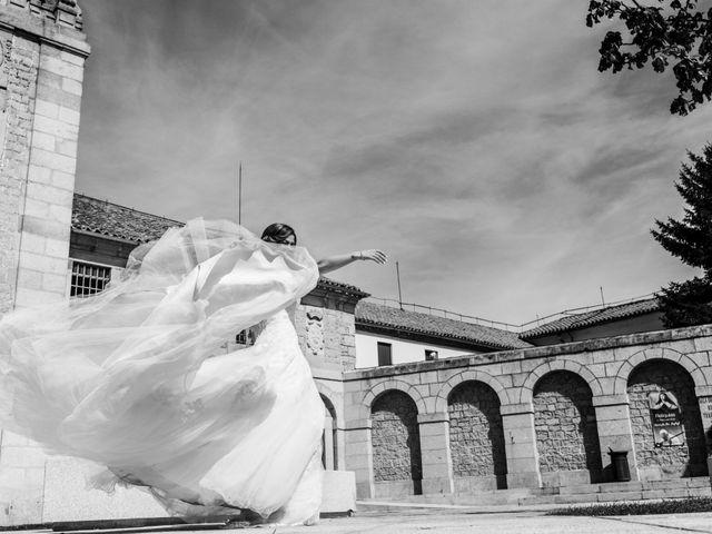 La boda de Ángel y Yolanda en Ávila, Ávila 1