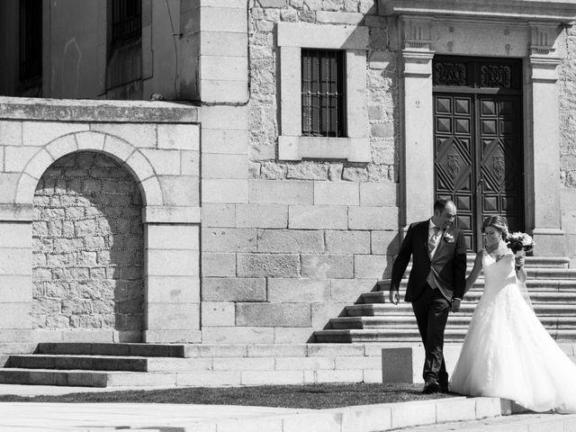 La boda de Ángel y Yolanda en Ávila, Ávila 19