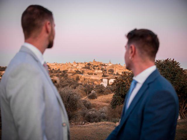 La boda de Brian y Jose en Toledo, Toledo 22