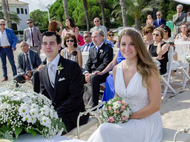 La boda de Pablo y Cristina en Miami-platja, Tarragona 4