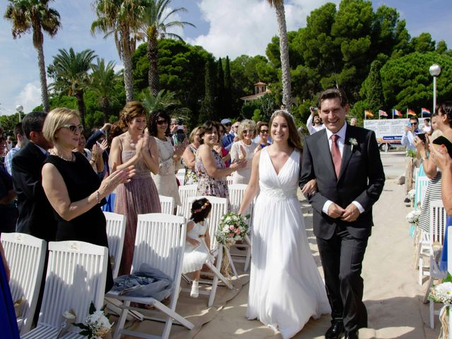 La boda de Pablo y Cristina en Miami-platja, Tarragona 31