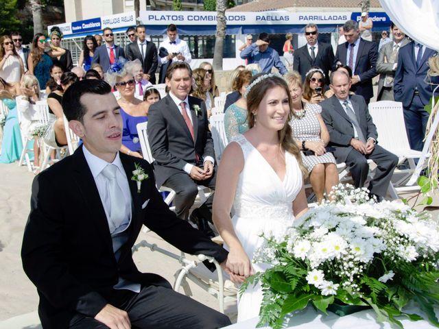 La boda de Pablo y Cristina en Miami-platja, Tarragona 33
