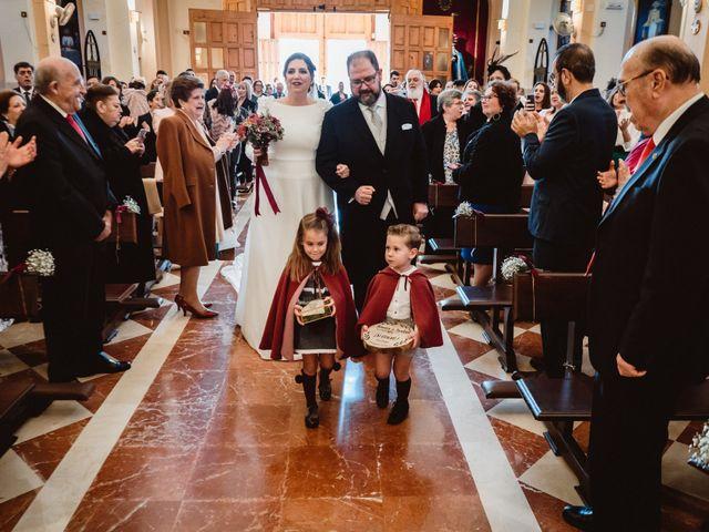 La boda de Javi y Isa en Torre Del Mar, Málaga 37