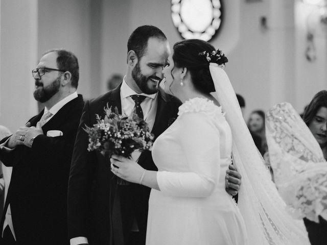La boda de Javi y Isa en Torre Del Mar, Málaga 40