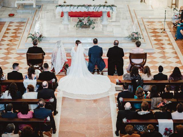 La boda de Javi y Isa en Torre Del Mar, Málaga 45