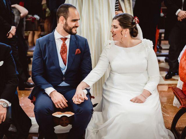 La boda de Javi y Isa en Torre Del Mar, Málaga 51