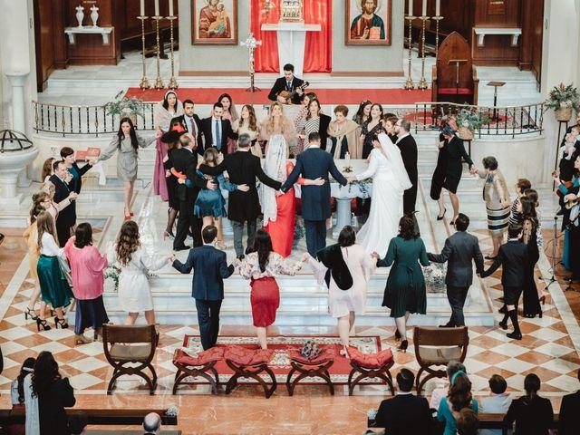 La boda de Javi y Isa en Torre Del Mar, Málaga 52
