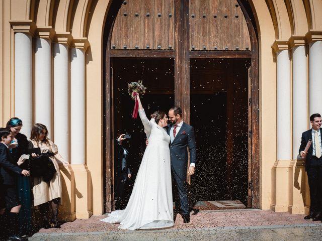 La boda de Javi y Isa en Torre Del Mar, Málaga 54