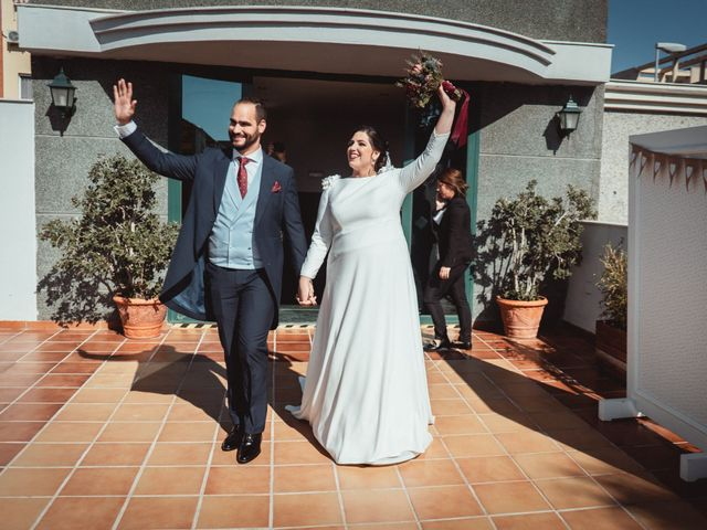 La boda de Javi y Isa en Torre Del Mar, Málaga 75