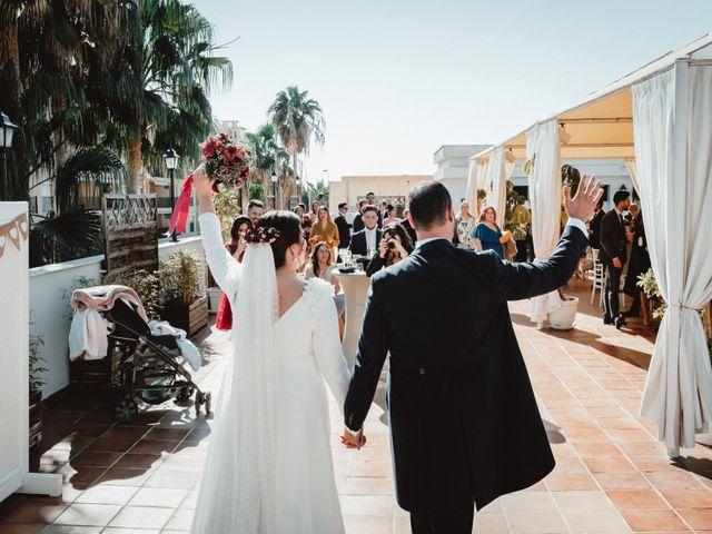 La boda de Javi y Isa en Torre Del Mar, Málaga 76