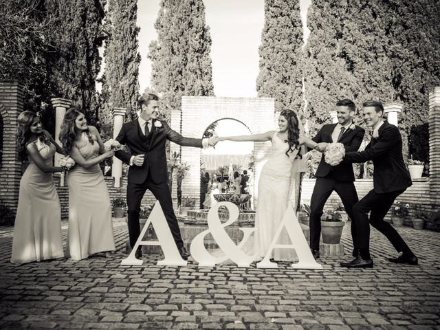 La boda de Austin y Andrea en Sanlucar La Mayor, Sevilla 11