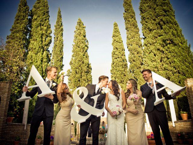 La boda de Austin y Andrea en Sanlucar La Mayor, Sevilla 14