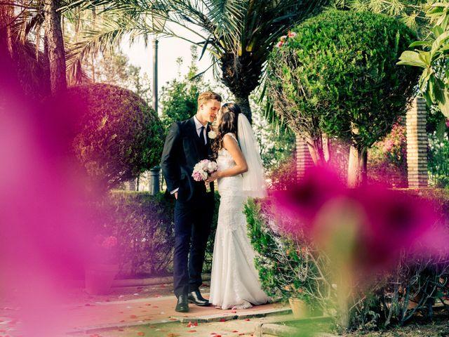 La boda de Austin y Andrea en Sanlucar La Mayor, Sevilla 24