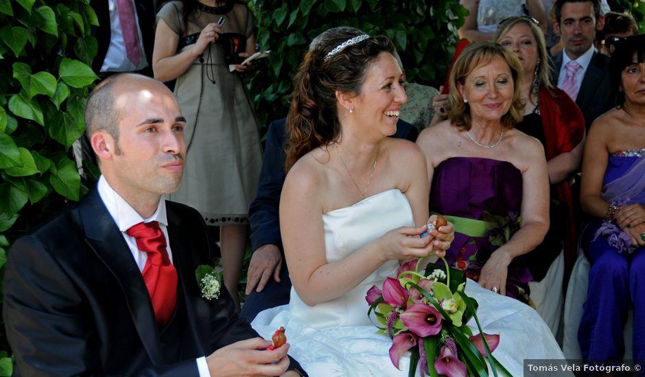 La boda de Mirian y Jonatan en La Muela, Zaragoza