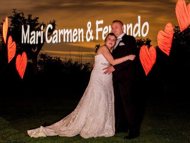 La boda de Fernando y Mari Carmen en Arganda Del Rey, Madrid 101