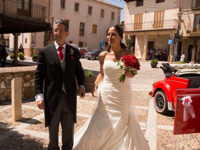 La boda de Javier y Nereida  en Riaza, Segovia 14