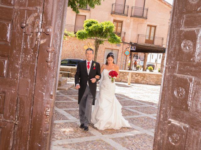 La boda de Javier y Nereida  en Riaza, Segovia 15